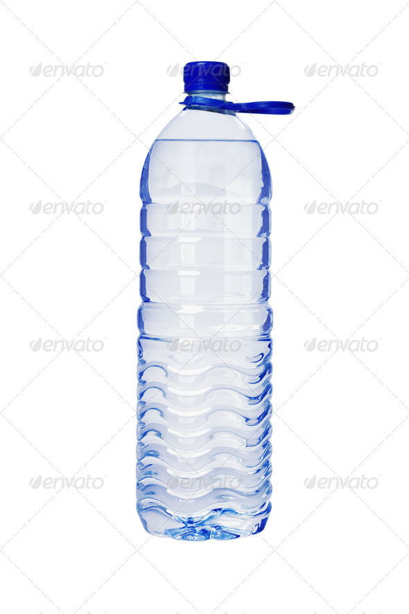 Plastic Bottle of Mineral Water - Stock Photo - Images