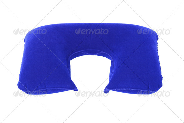Inflatable Neck Pillow - Stock Photo - Images