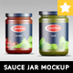 Realistic Sauce Jar MockUp - GraphicRiver Item for Sale
