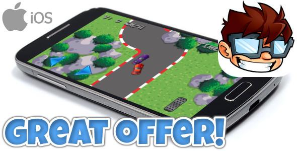 Mini Car Racing iOS +IAP +Admob banner & interstitials - CodeCanyon Item for Sale