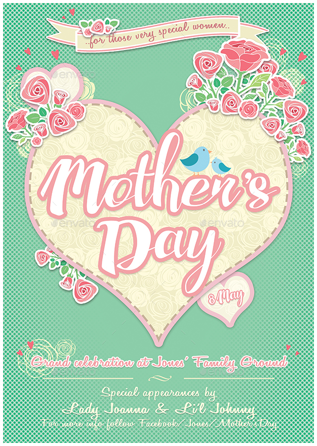 MotherS Day Special Flyer By Indworks  Graphicriver