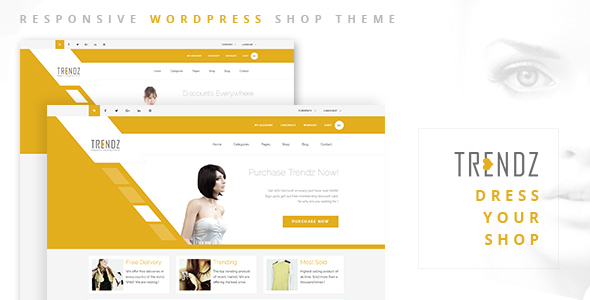 Trendz – WooCommerce Shopping WordPress Theme