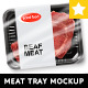 Realistic Meat Tray MockUp - GraphicRiver Item for Sale