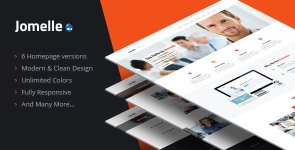 Jomelle – Multipurpose Business Drupal Theme
