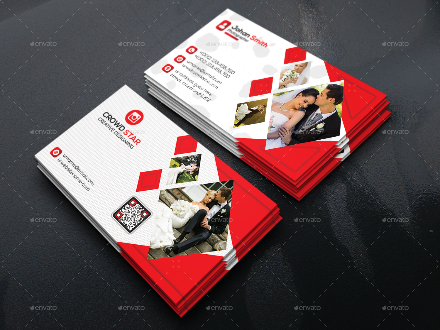 Business Card Wedding Photographer Images - Card Design And Card ...