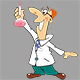 Set of Cartoon Scientists for your Design  - GraphicRiver Item for Sale