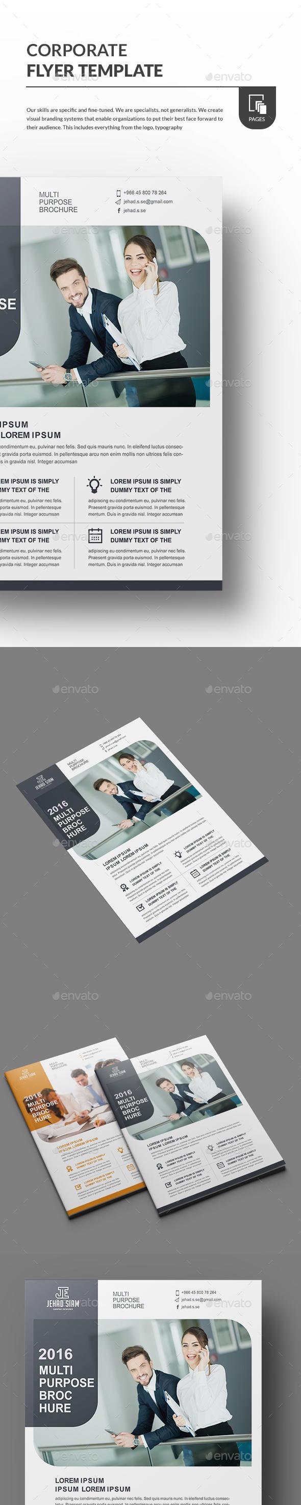 Flyer Template - Flyers Print Templates