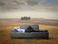 Businessman lying on the sofa - PhotoDune Item for Sale