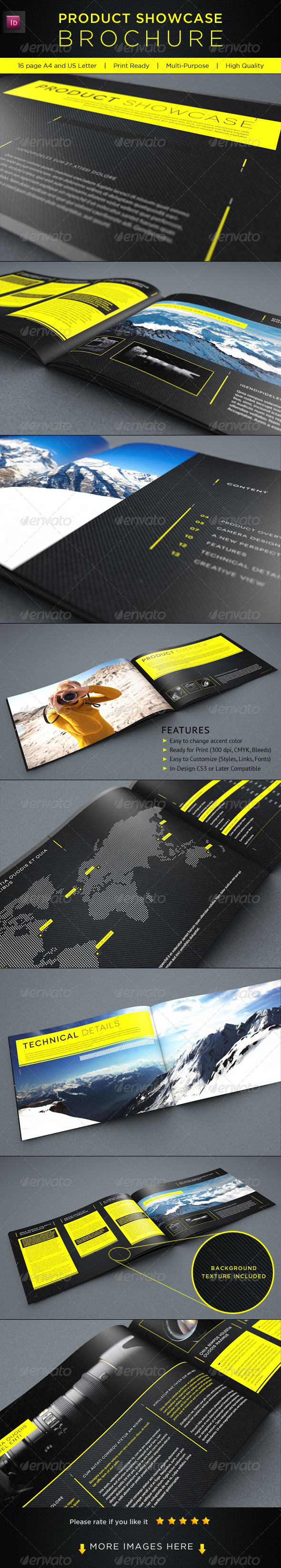 Product Showcase Brochure - Corporate Brochures