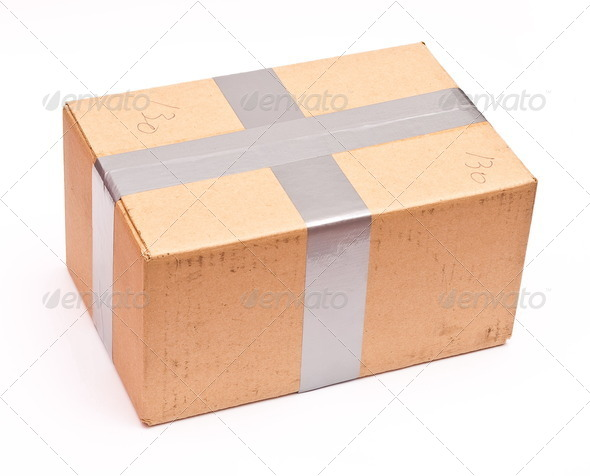 Cartoon box - Stock Photo - Images