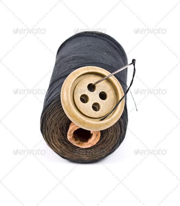 Sewing kit - Stock Photo - Images