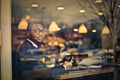 Man in a coffee shop - PhotoDune Item for Sale