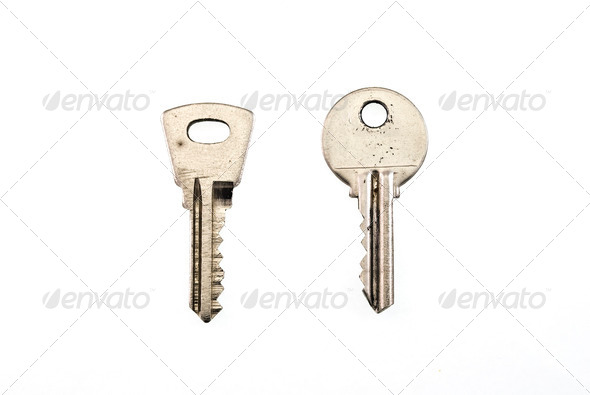 Old keys - Stock Photo - Images