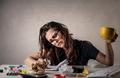 Woman working - PhotoDune Item for Sale