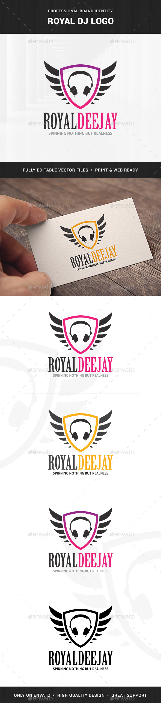 Royal DJ Logo - Crests Logo Templates