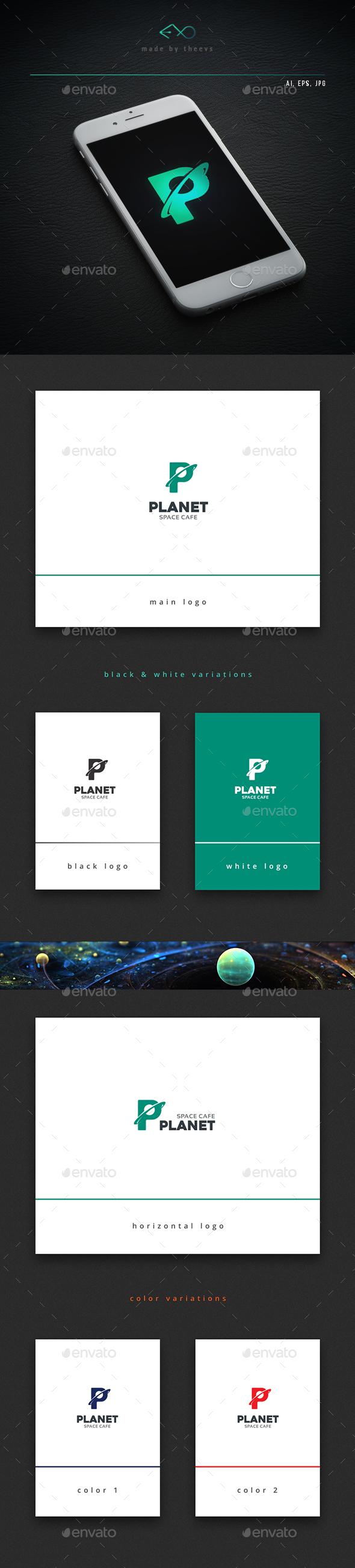 Planet - Letters Logo Templates