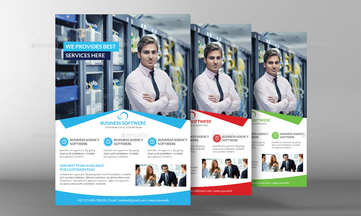Human Resource Management Flyer By Graphicforestnet