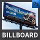 Vintage Cars Event Billboard Template - GraphicRiver Item for Sale
