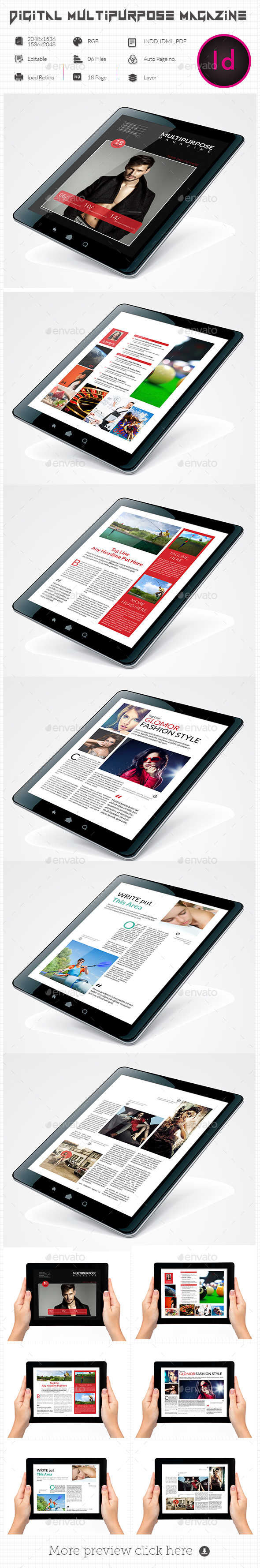 Multpurpose E-Magazine - ePublishing