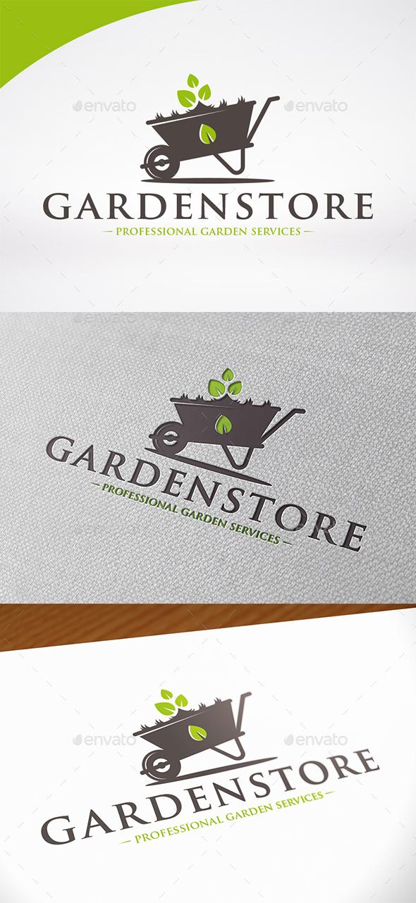 Garden Store Logo Template - Nature Logo Templates