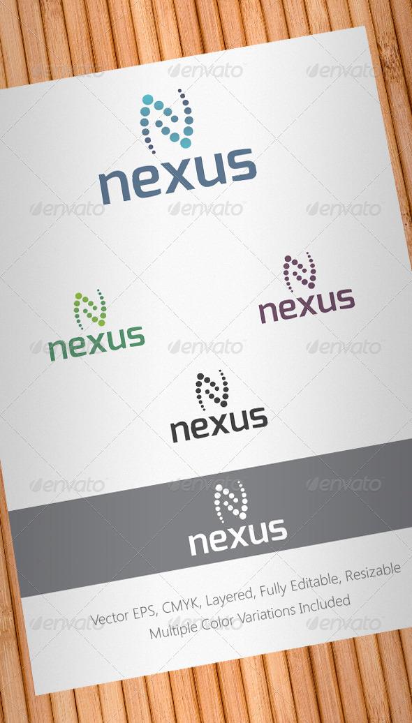 Nexus Logo Template - Abstract Logo Templates