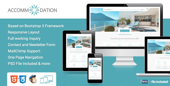 Image of Accommodation Landing Page