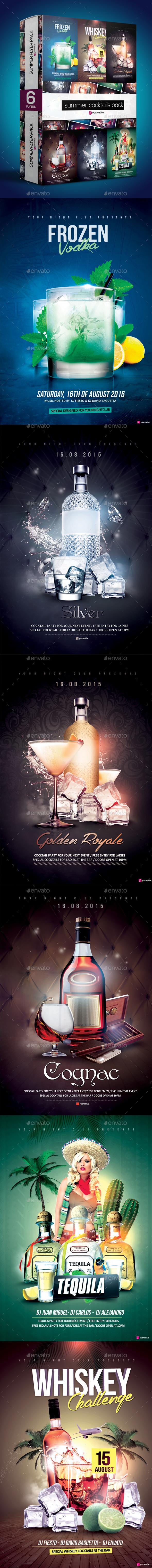 Summer Cocktails Bundle - Clubs & Parties Events