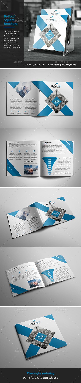 Corporate Bi-fold Square Brochure 09 - Corporate Brochures