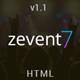 Zevent - Conference & Event Responsive Html Template - ThemeForest Item for Sale