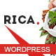 Rica - Responsive Restaurant WordPress Theme - ThemeForest Item for Sale