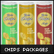 3 Chips packages Mock-up