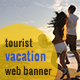 Tourist Banner Ads - GraphicRiver Item for Sale