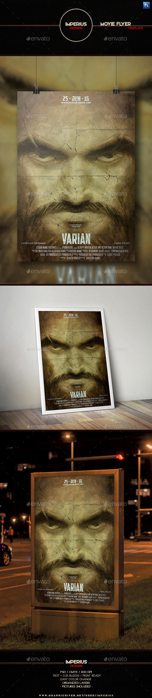 Varian Movie Flyer - Miscellaneous Events