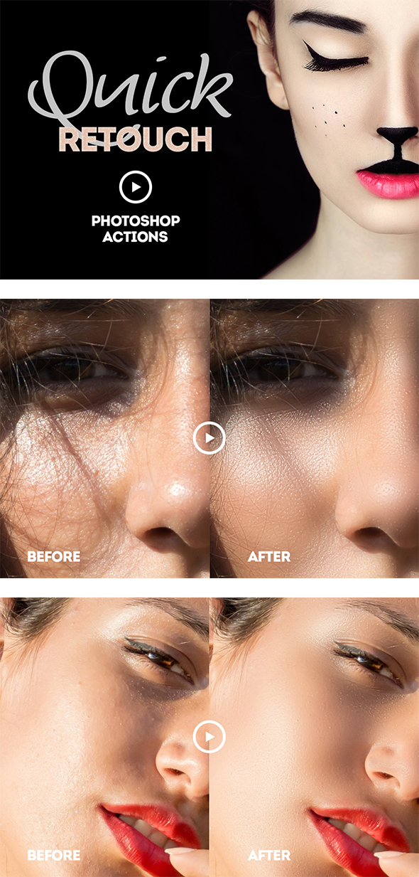 Quick Retouch Action - Utilities Actions