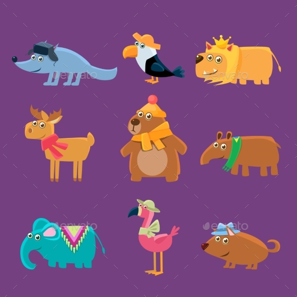 Animals Collection - Animals Characters