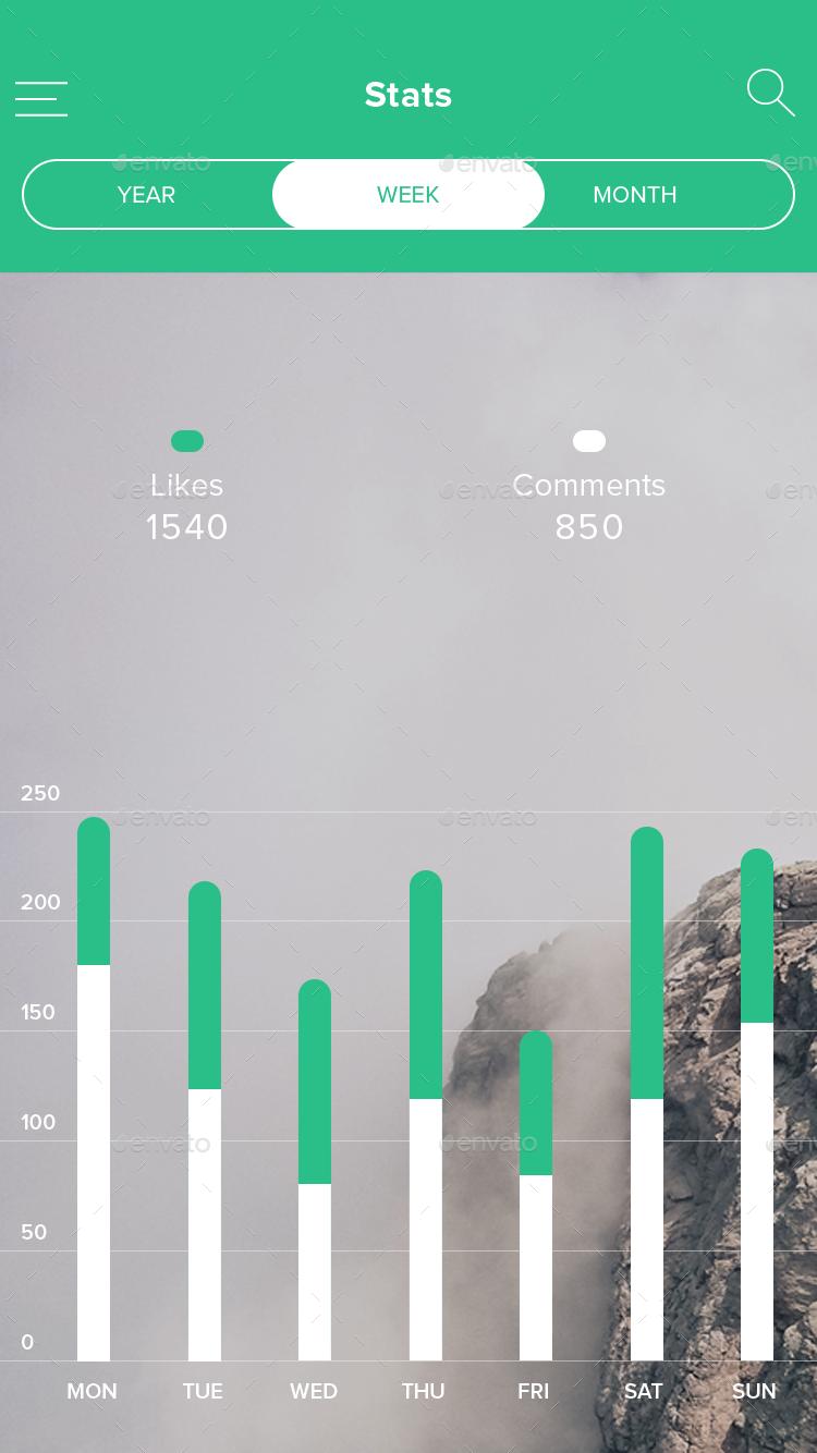 Ramro App Template iOS by amritunsung | GraphicRiver