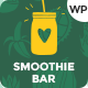 SunnyJar - Smoothie Bar & Healthy Drinks Shop WordPress Theme - ThemeForest Item for Sale