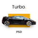 Turbo - Car Rental PSD Template - ThemeForest Item for Sale