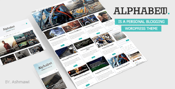 Alphabet – A Responsive WordPress Blog Theme
