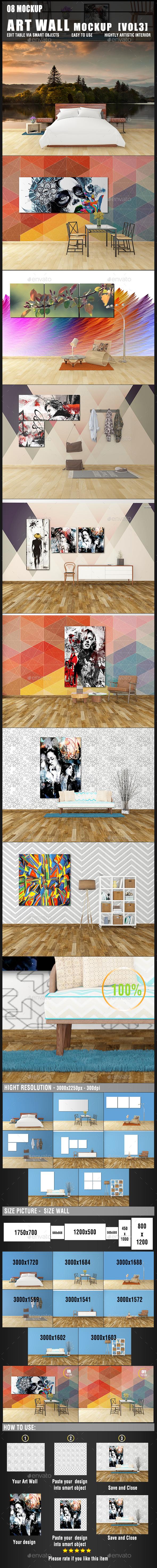 Art Wall Mockup [Vol3] - Miscellaneous Print