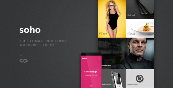 Soho – The Ultimate Portfolio WordPress Theme