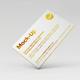 Luxury Gold Foil & Ink Letterpress Business Card Mock-Up