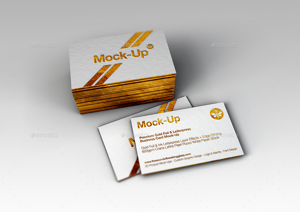 Luxury gold foil ink letterpress business card mock up by mock up screenzmm gold foil letterpress mock up 8g reheart Image collections