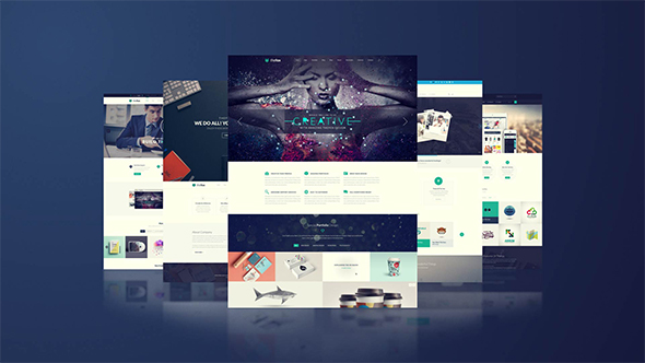 website presentation by 3uma videohive