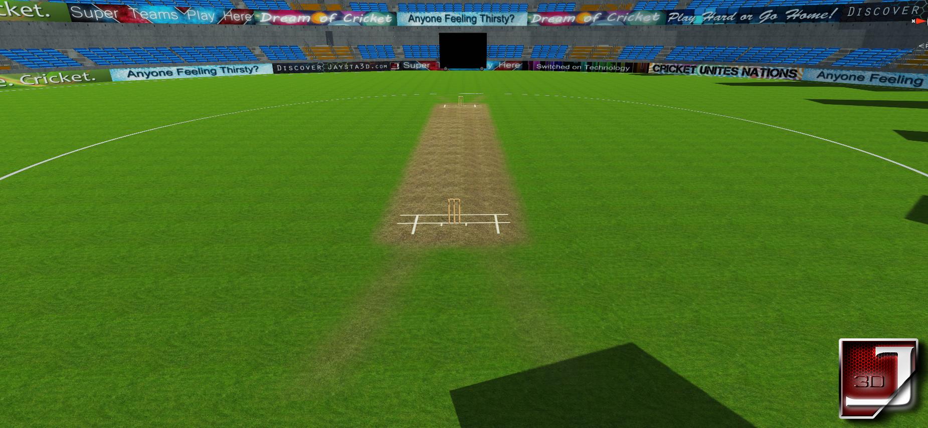 Cricket Ground By Jaysta3d 3docean