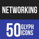 Networking Glyph Icons