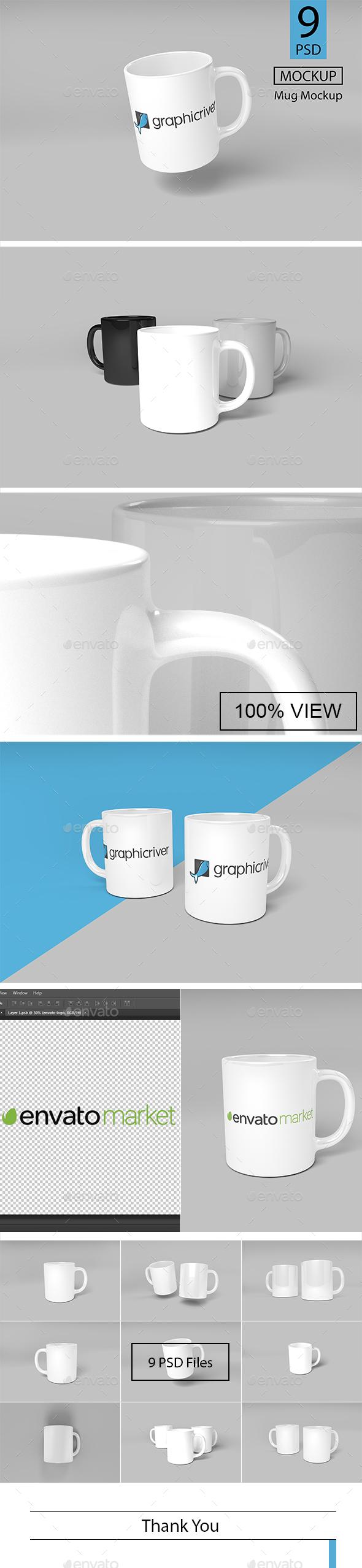Mug Mockup - Logo Product Mock-Ups