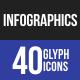 Infographics Glyph Icons