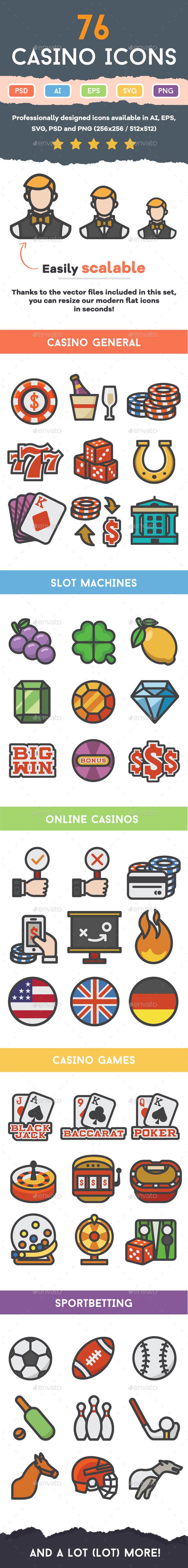 Casino Icons - Icons