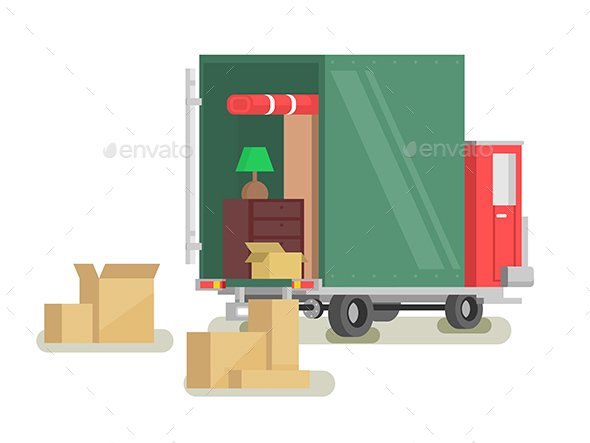 Moving Furniture Loading - Services Commercial / Shopping